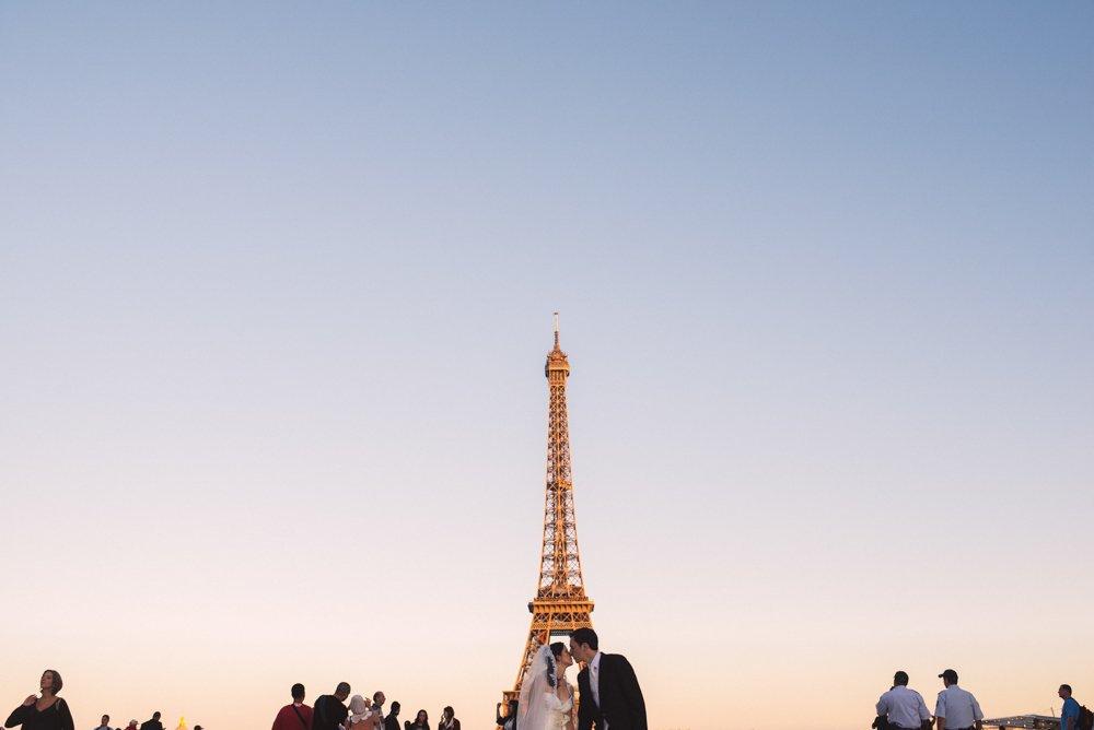paris elopement photos