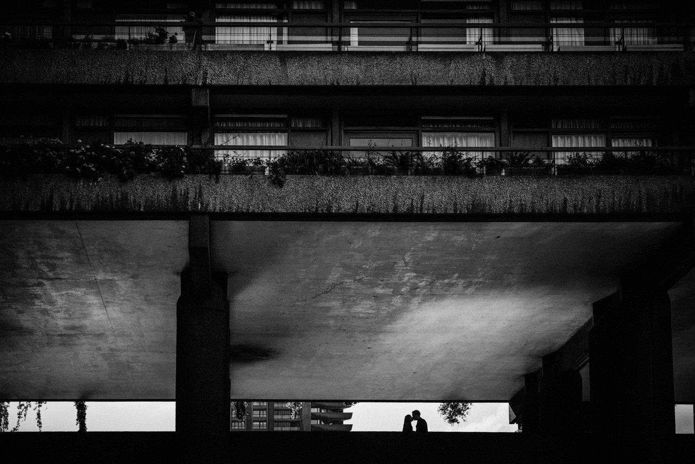 Dramatic London Engagement Photography