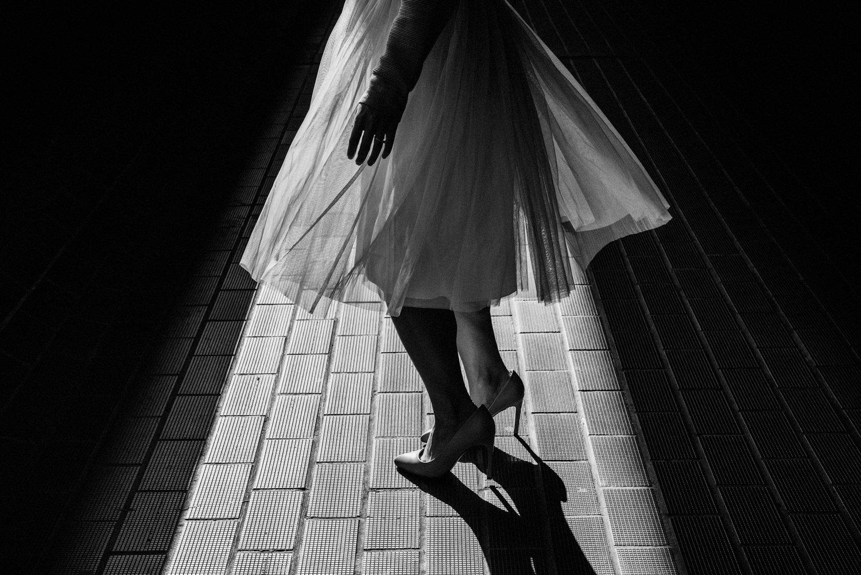 Woman twirling wearing skirt BABB Photo