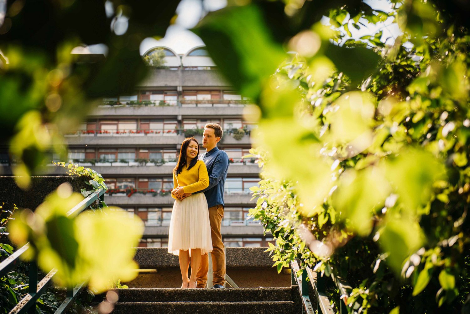 Barbican Engagement shoot wedding photography-3