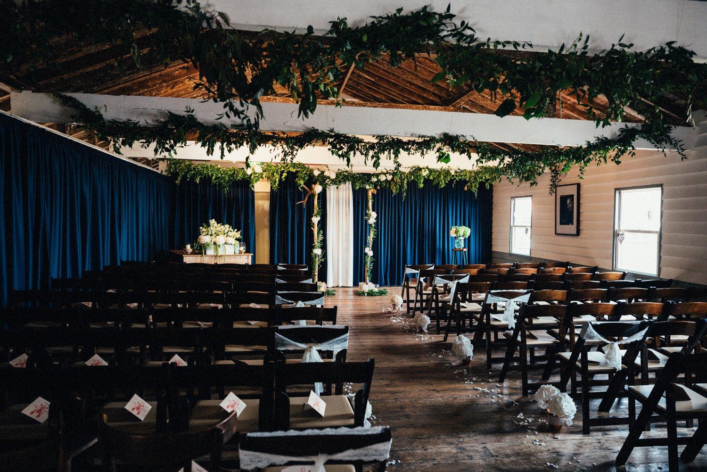 Whitstable wedding ceremony decoration