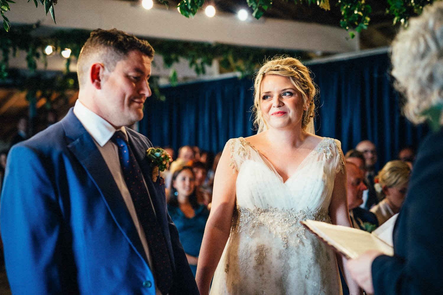 Whitstable Wedding ceremony BABB