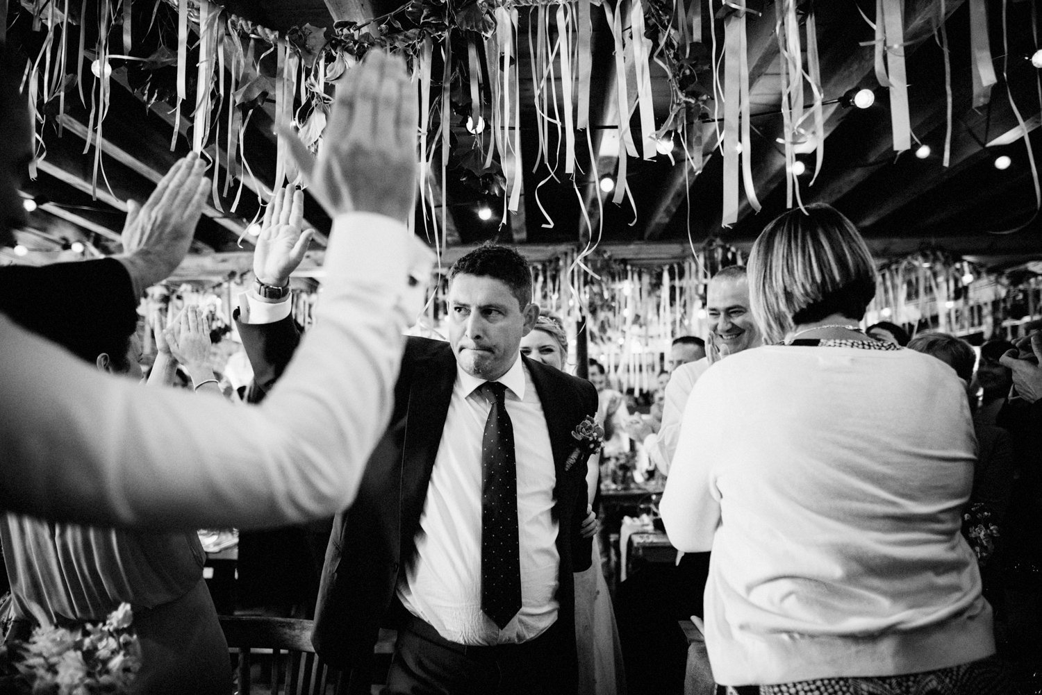 Lively Whitstable wedding photography