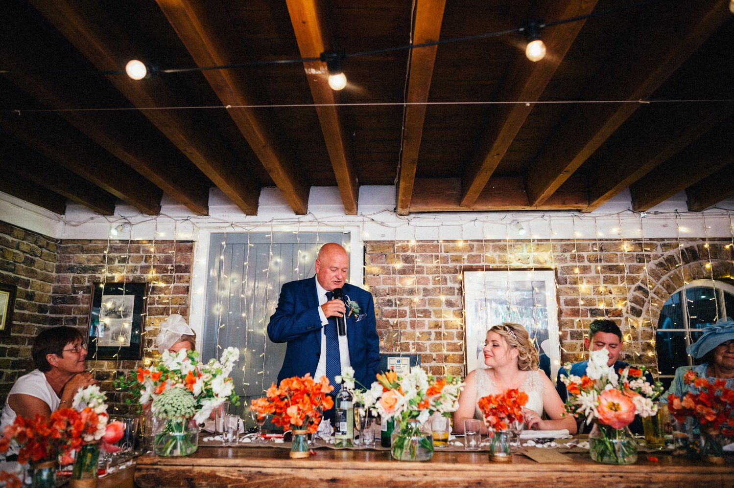 Whitstable wedding speeches