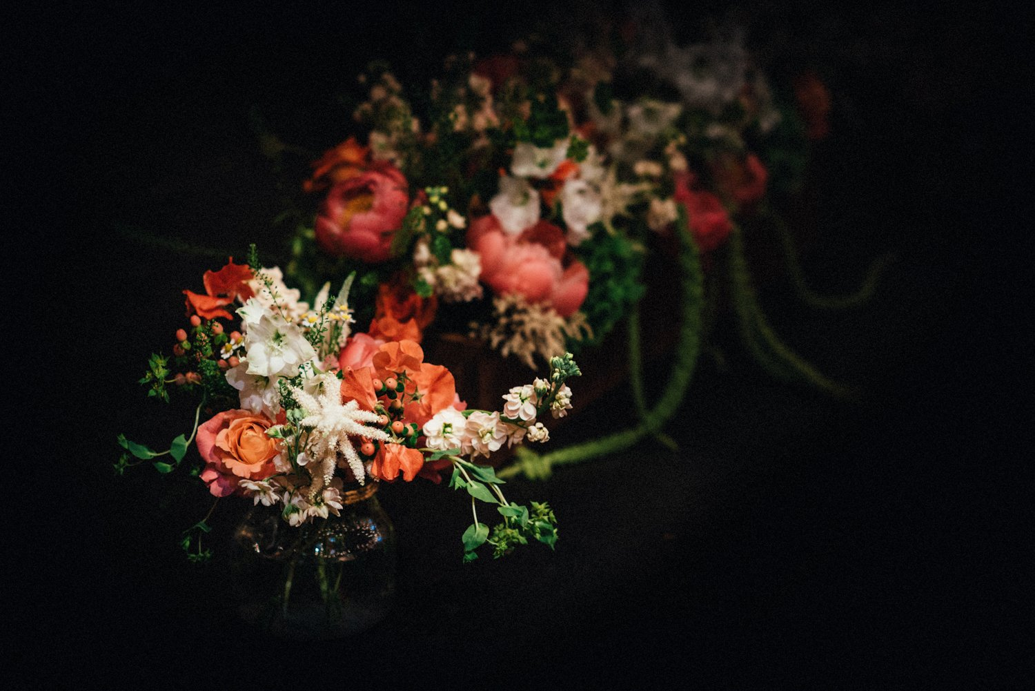 Flowers by A Vintage Wedding BABB Photo