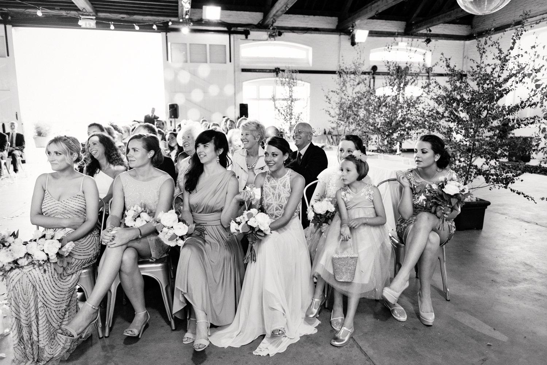 Wedding ceremony warehouse London