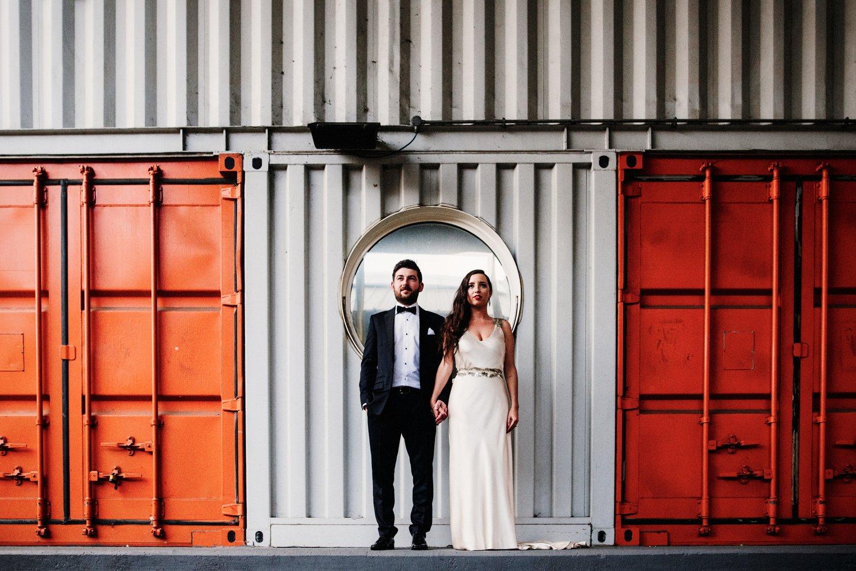 Industrial Glam Warehouse Wedding