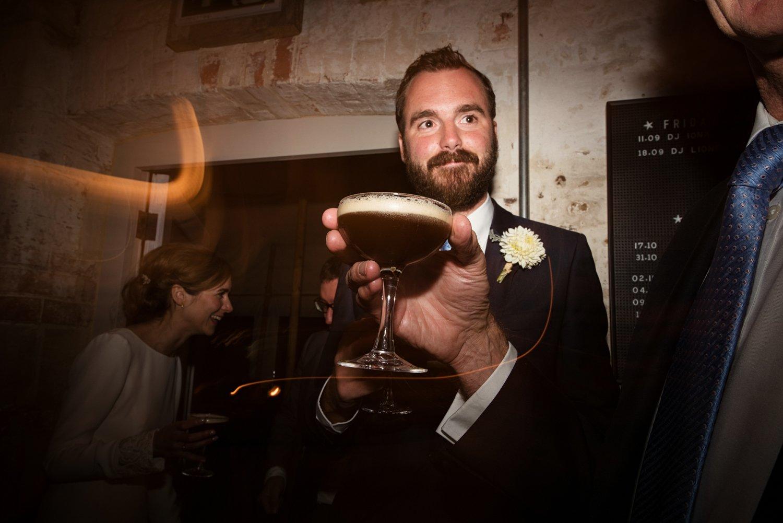 Cocktails Hauser Wirth Wedding Somerset