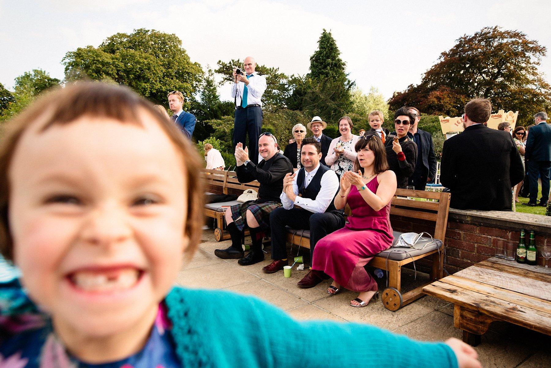 Fun West Lexham Wedding Photography