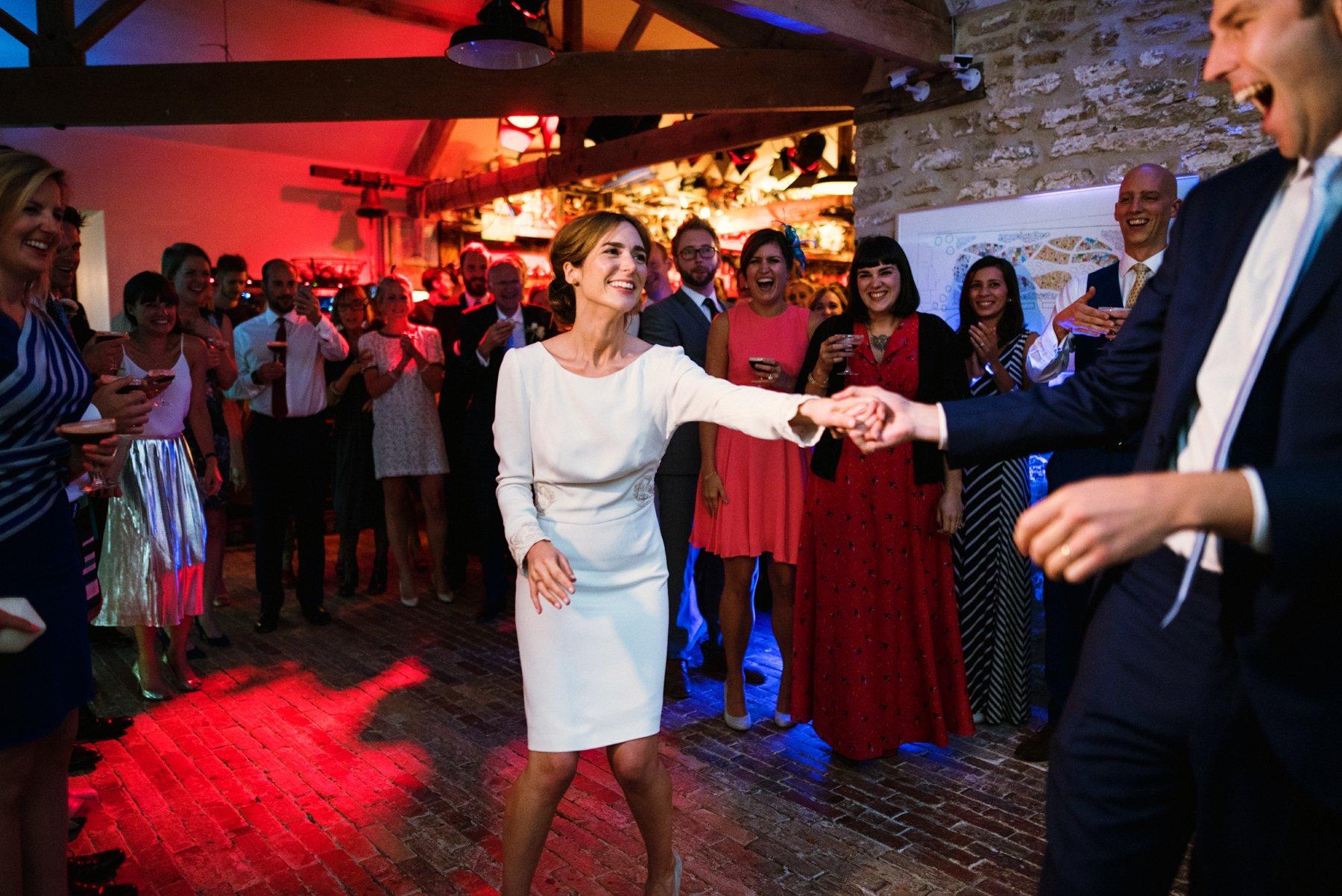 First wedding dance Hauser & Wirth