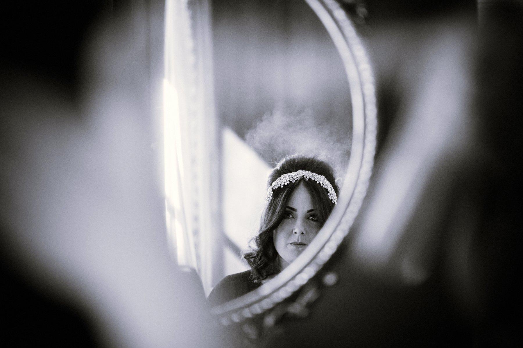 Bridal reflection Roast Borough Market