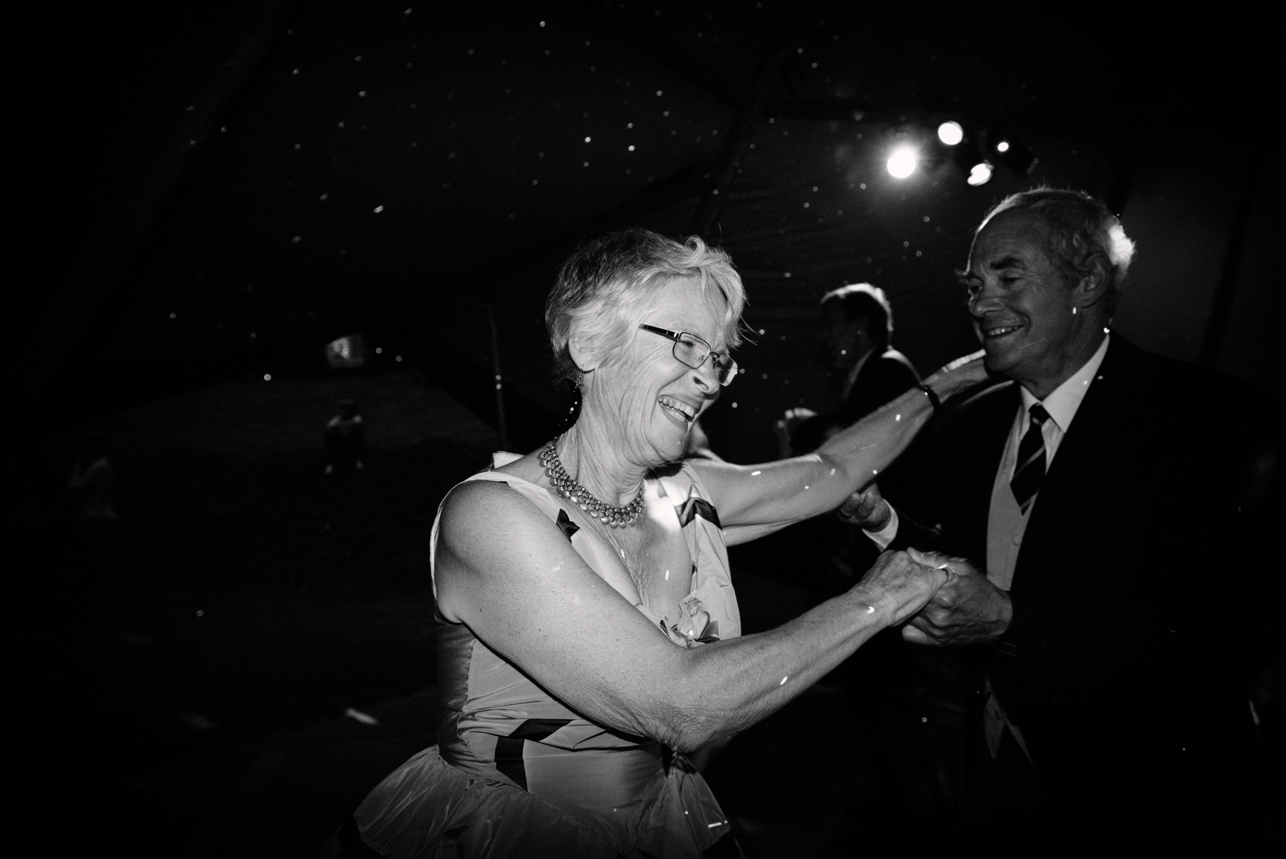 Mother of the bride dancing Babb