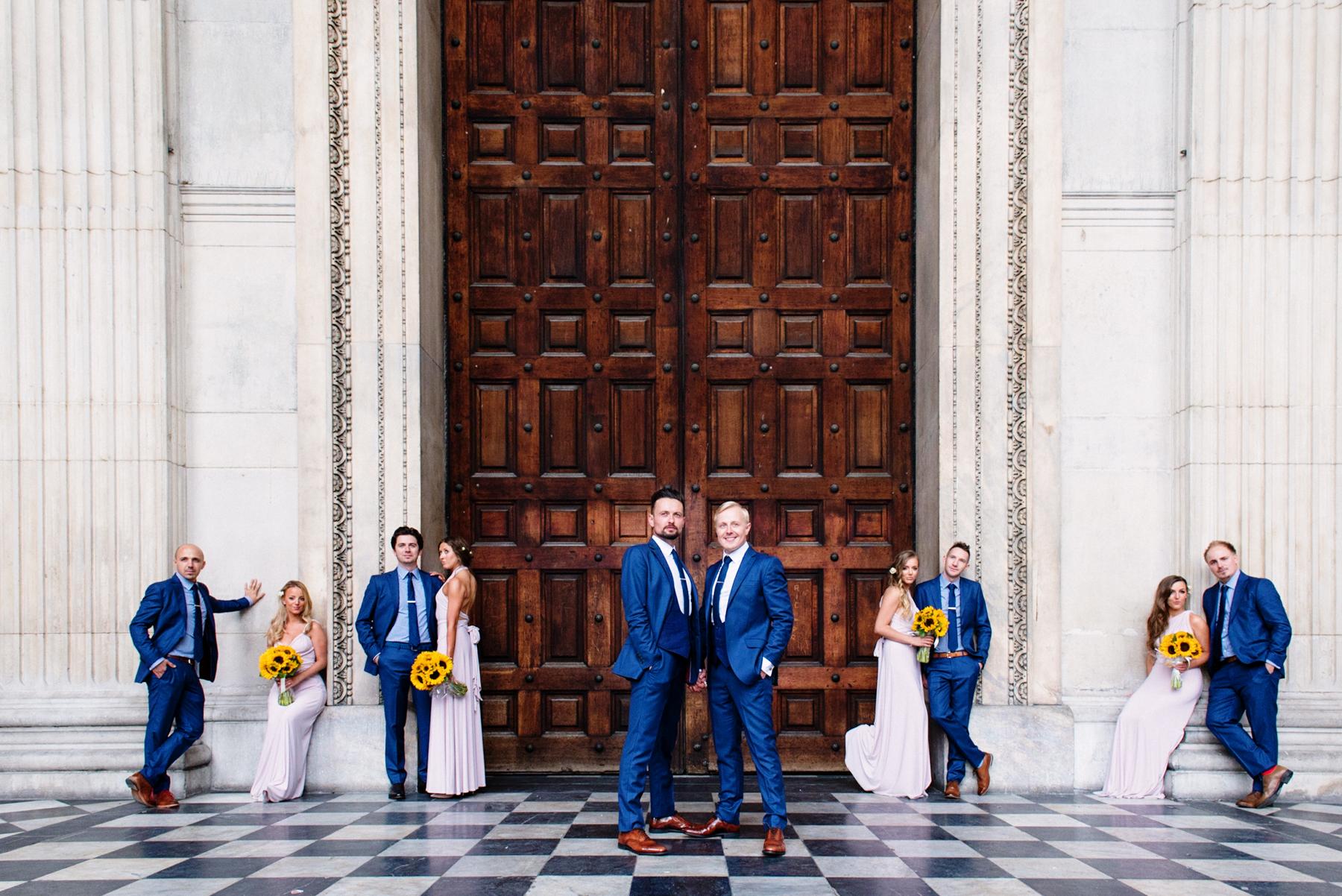 Alternative Group Wedding Photography Babb