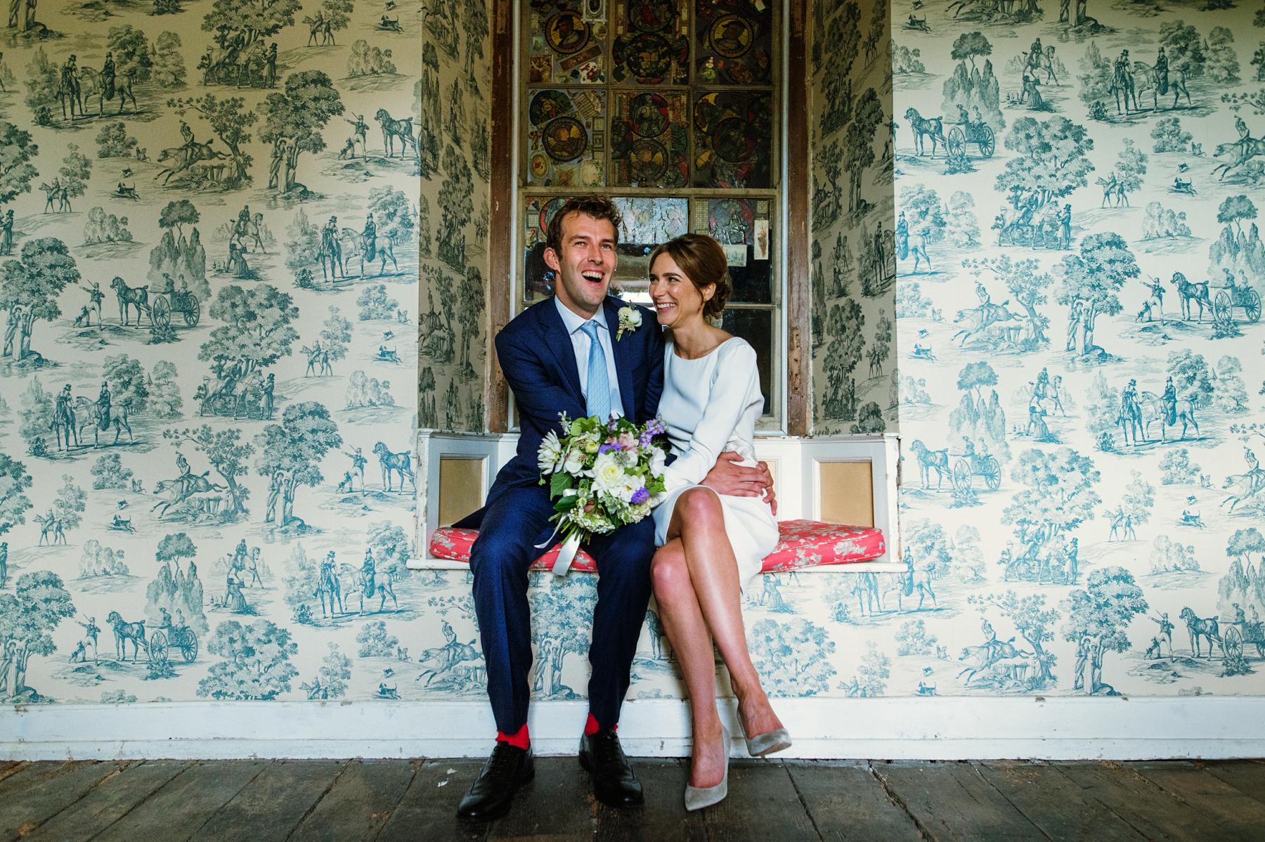 Hauser and Wirth wedding portrait