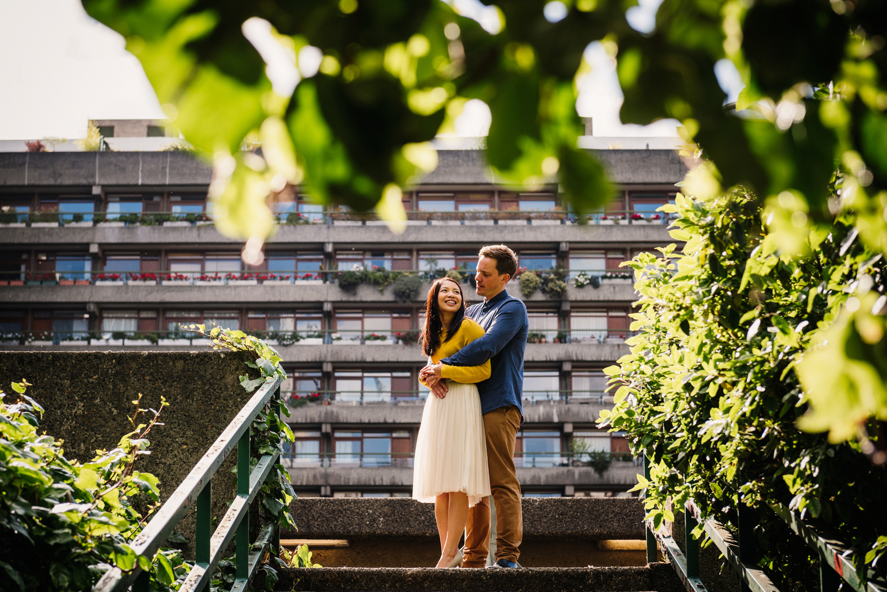 Cute Engagement Photography London