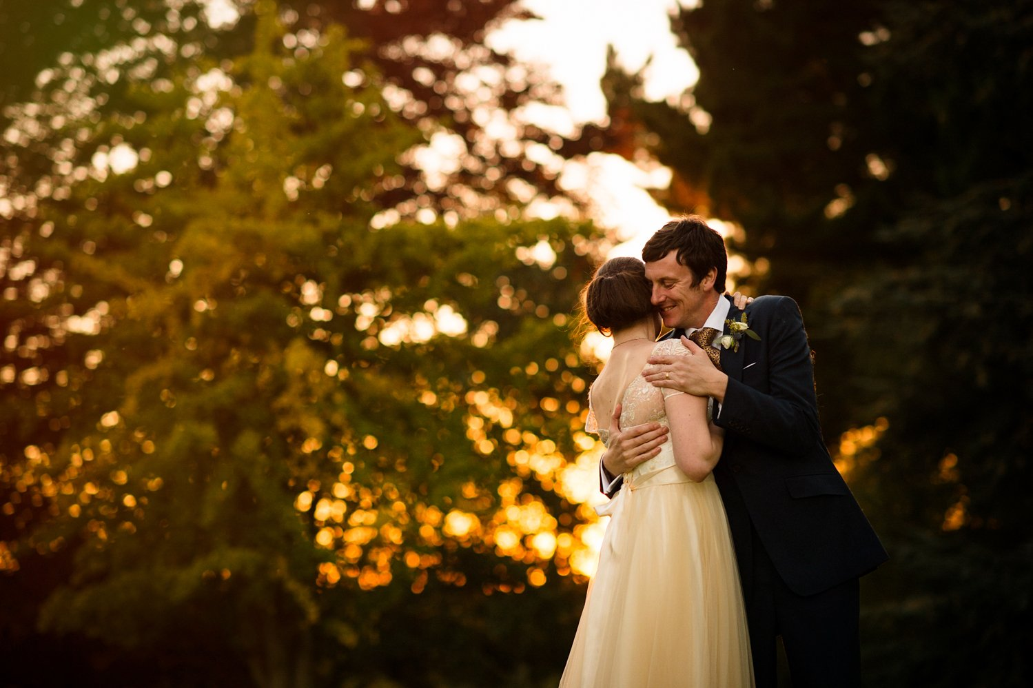 Romantic Norfolk wedding portrait