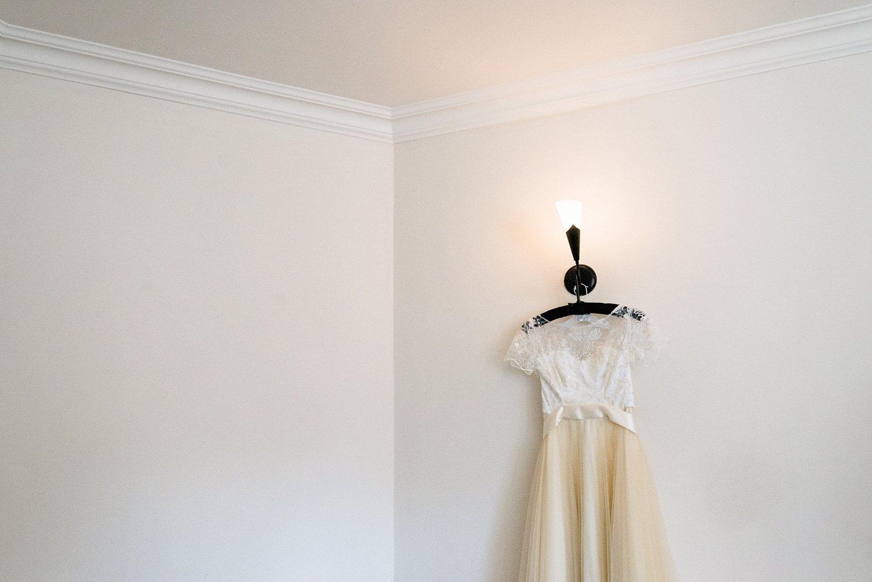 Fur Coat No Knickers bridal dress