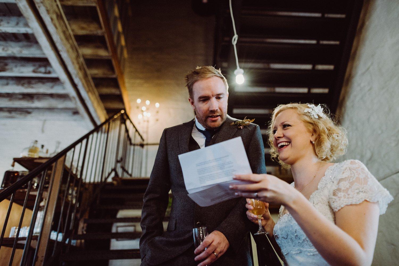Alternative wedding photography Edinburgh
