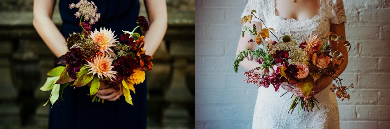 Pyrus wedding bouquets Edinburgh