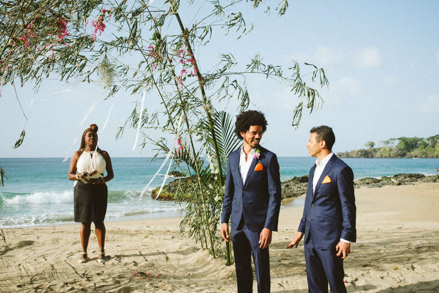Alternative destination wedding photographer Tobago