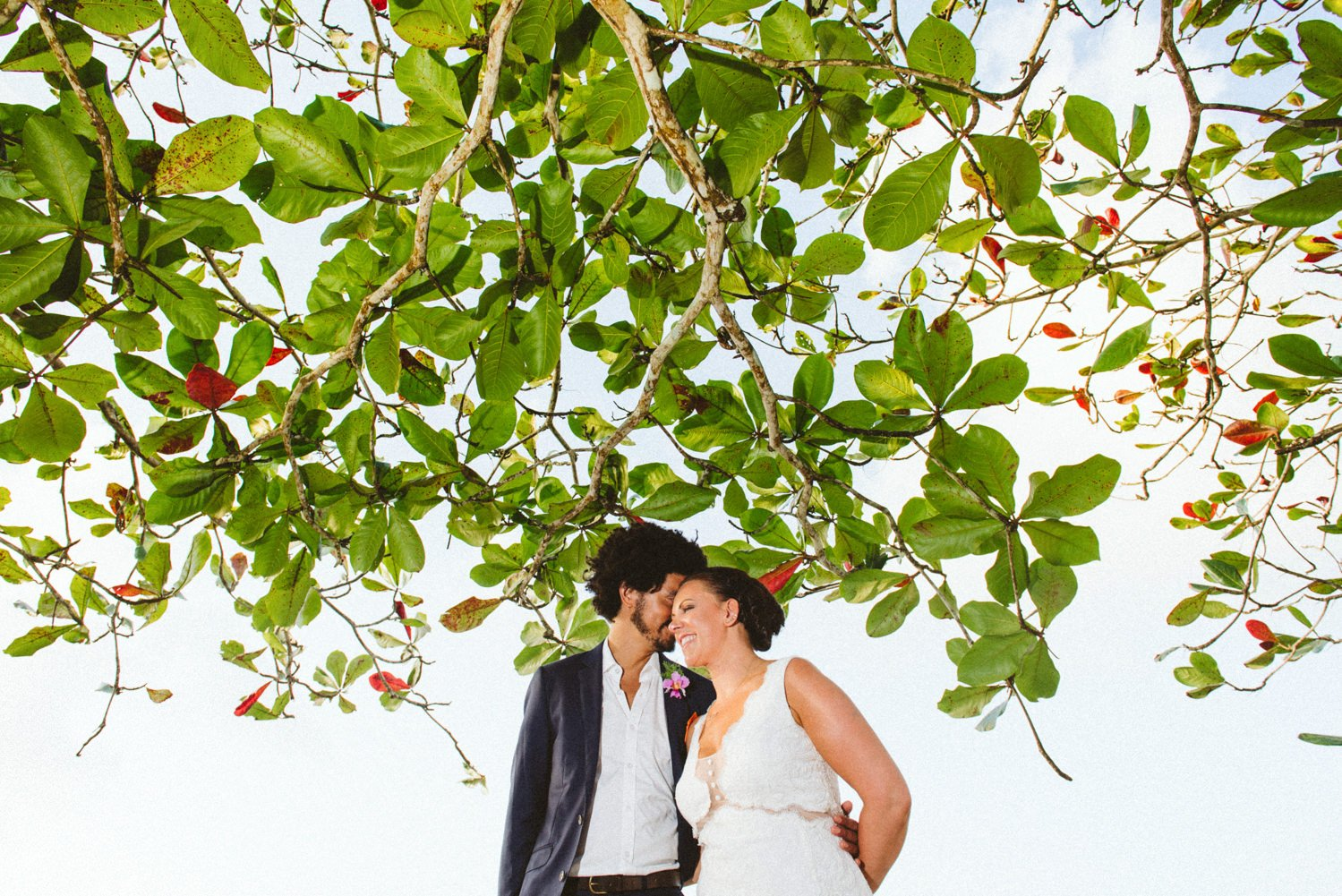 Tobago wedding portrait Babb photo