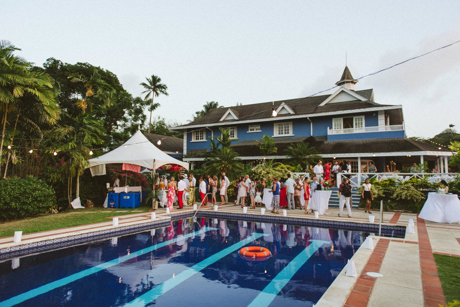 Villa Petrus Tobago wedding destination
