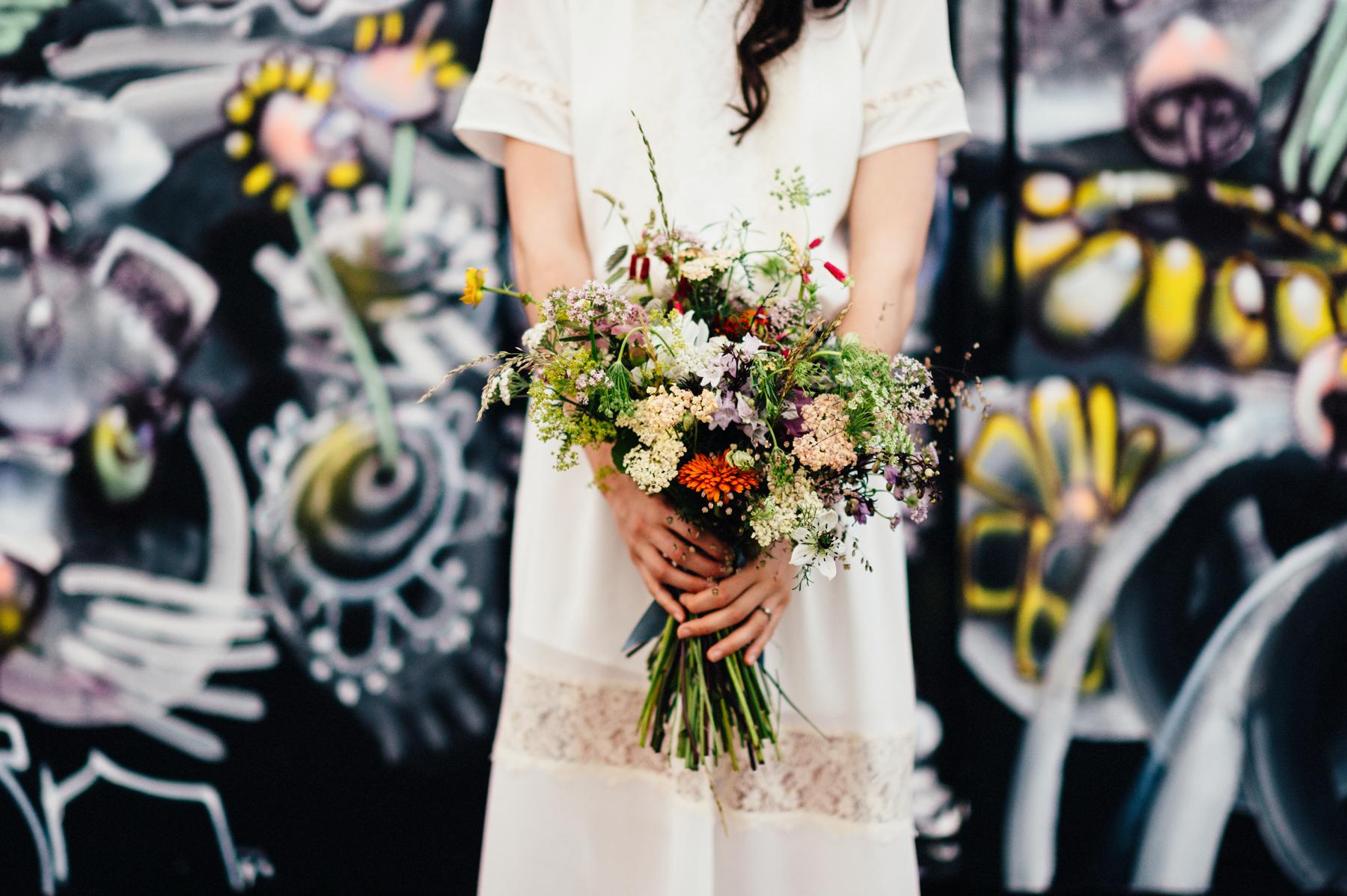 Alternative wedding photography Somerset