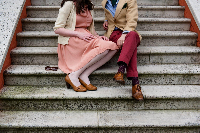 Kew Gardens Engagement Shoot-13