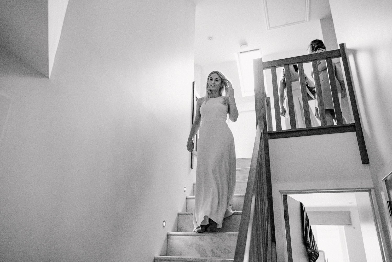 Laid back bride pre-wedding documentary wedding photography Babb Photo