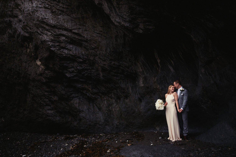 Tunnels Beaches Wedding Photographer Devon
