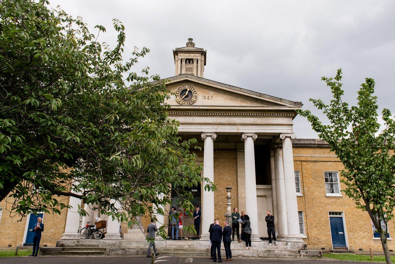 Hackney London wedding ceremony