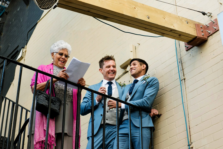 Same sex wedding photography London