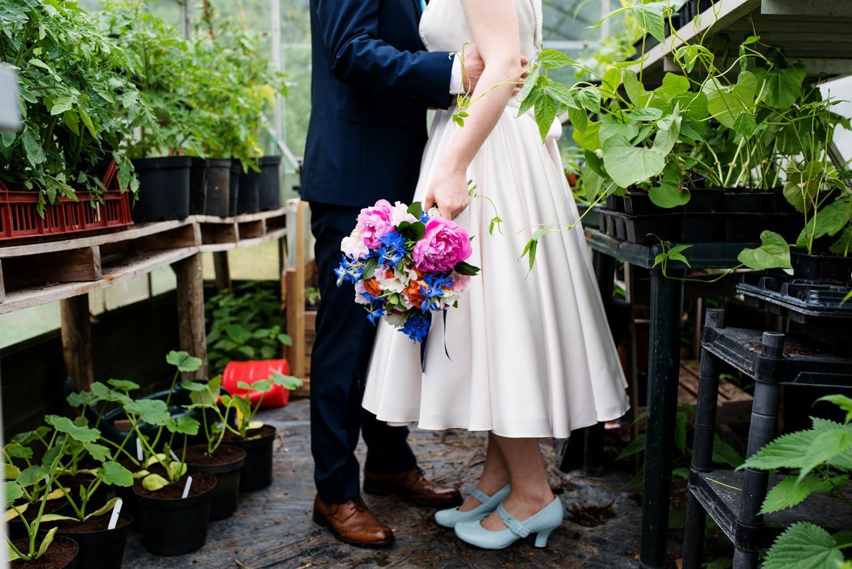 Wetland living wedding