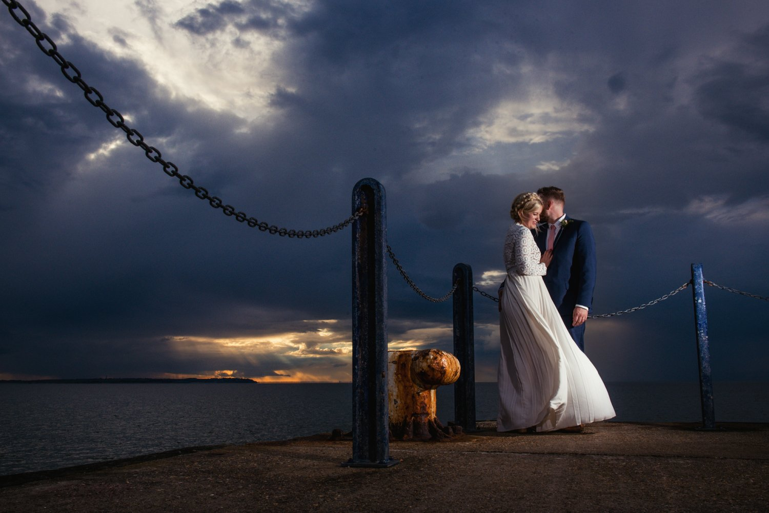 Creative award winning wedding photographer Babb Photo