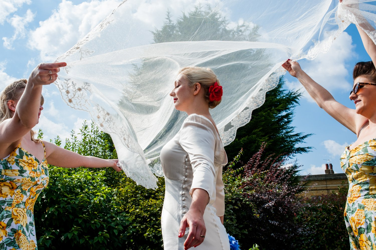 Creative award winning London wedding photography