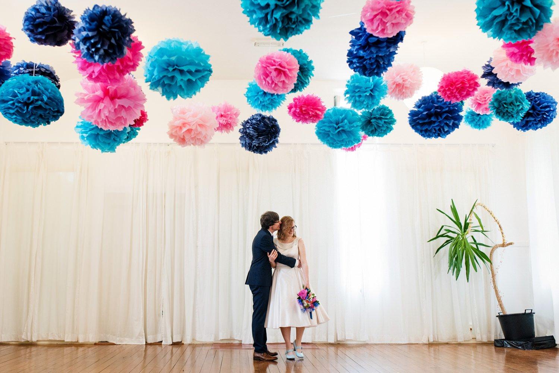 quirky wedding photos