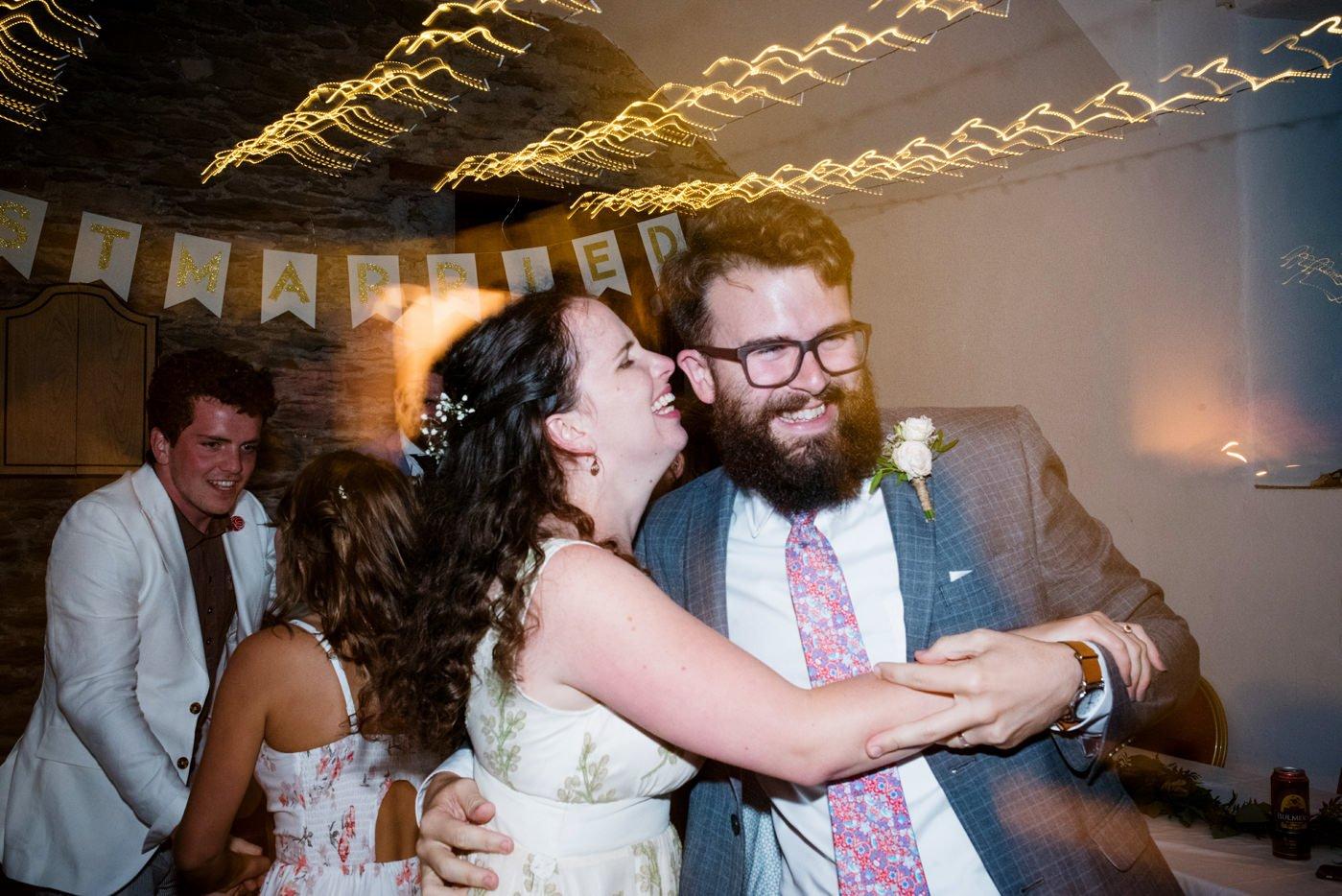 Creative documentary wedding photography Westcove House Co Kerry Ireland