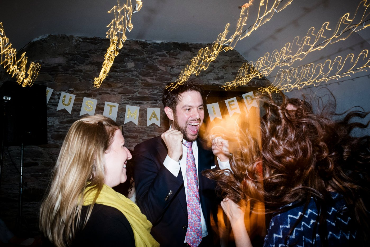 Creative colourful wedding photography Westcove House Ireland