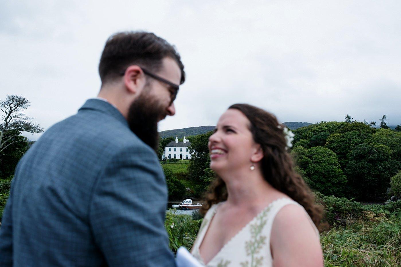 Outdoor DIY wedding Co Kerry Ireland