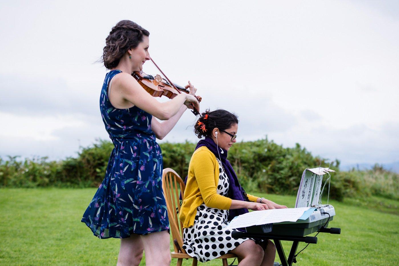 Bohemian outdoor wedding Co Kerry Ireland