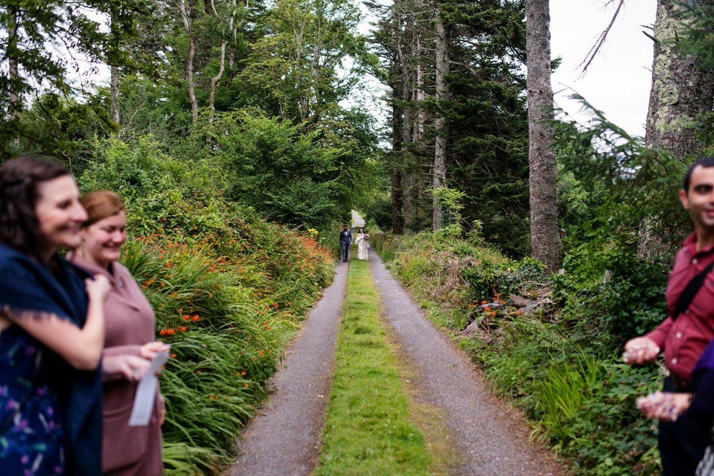 Co Kerry Ireland alternative destination wedding photography