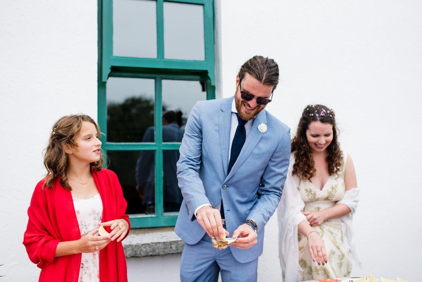 Colourful bohemian wedding Co Kerry Ireland