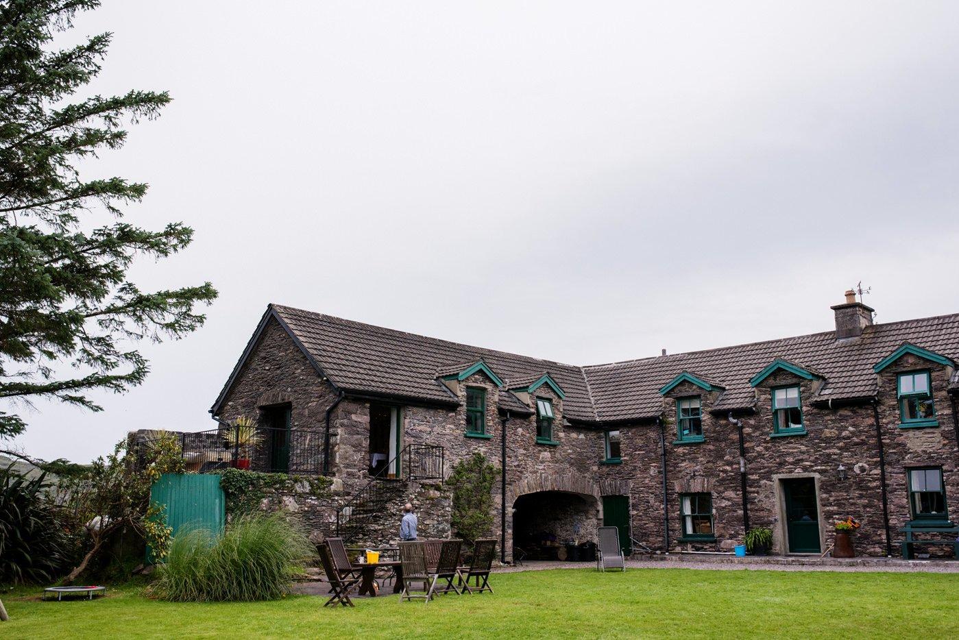 Westcove House Co Kerry Ireland quirky wedding venue