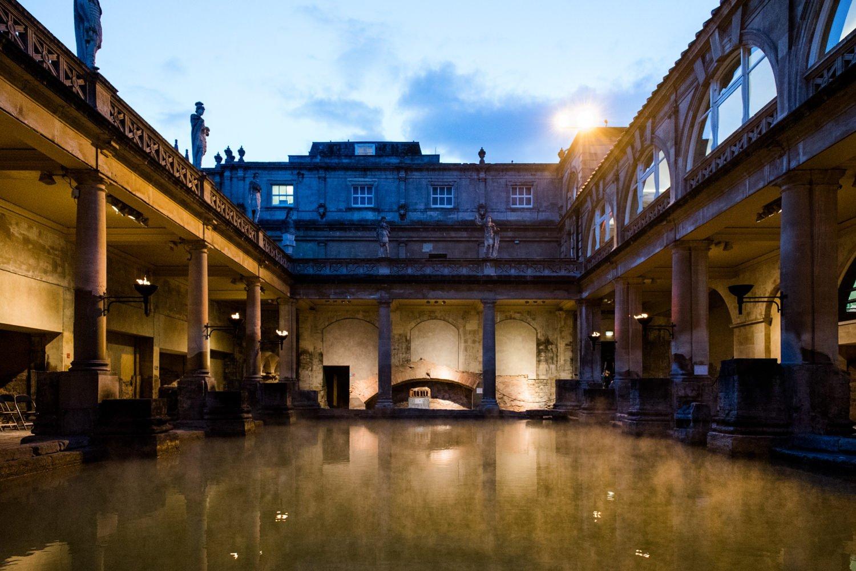 Roman Baths, Somerset wedding venue Roman Baths Wedding Photographer