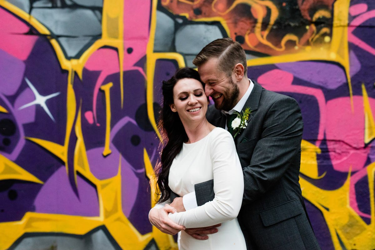 Alternative destination wedding photography Derry Northern Ireland