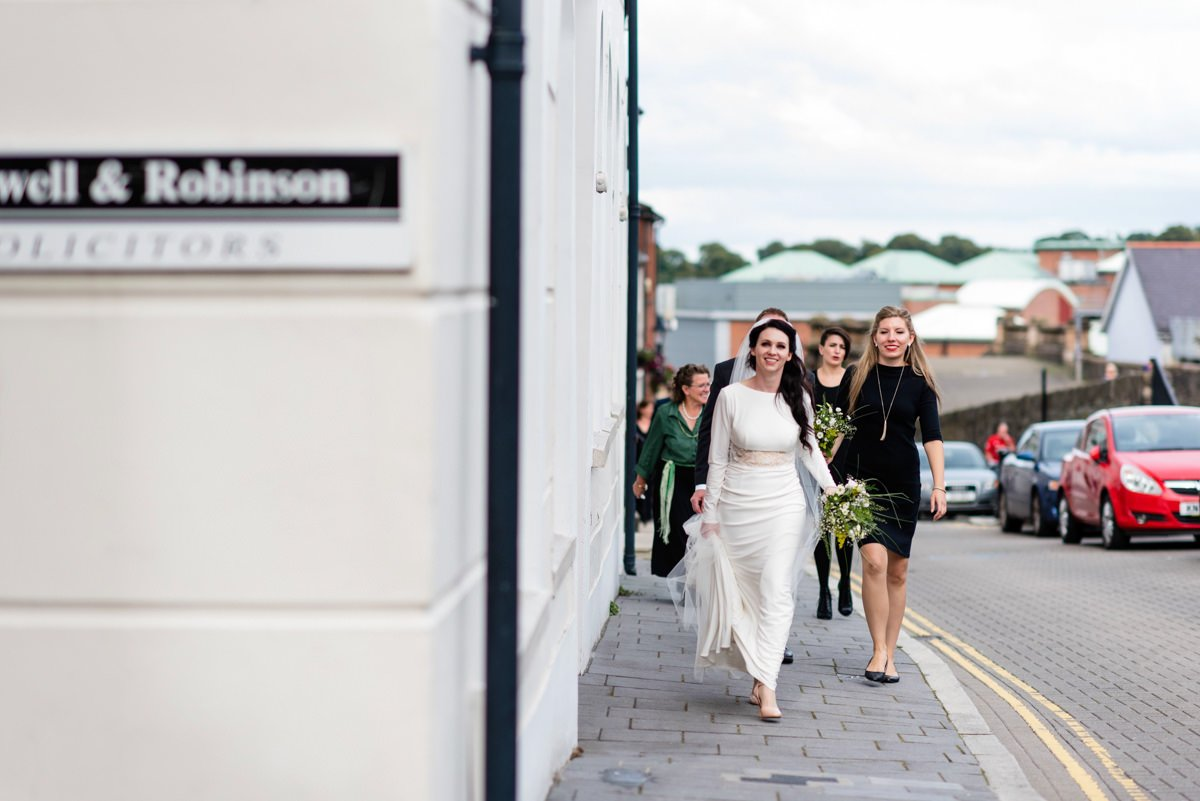 Destination wedding photography Derry Northern Ireland