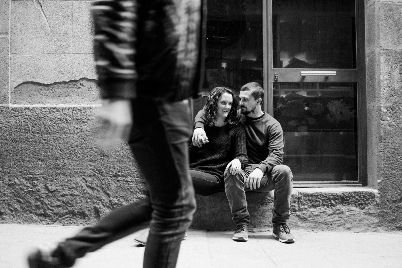 Creative engagement photography Barcelona