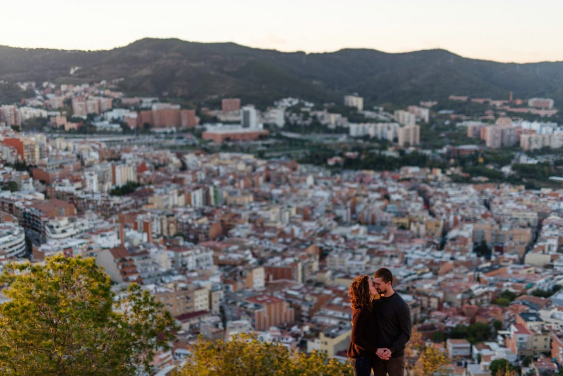 Barcelona pre wedding photography