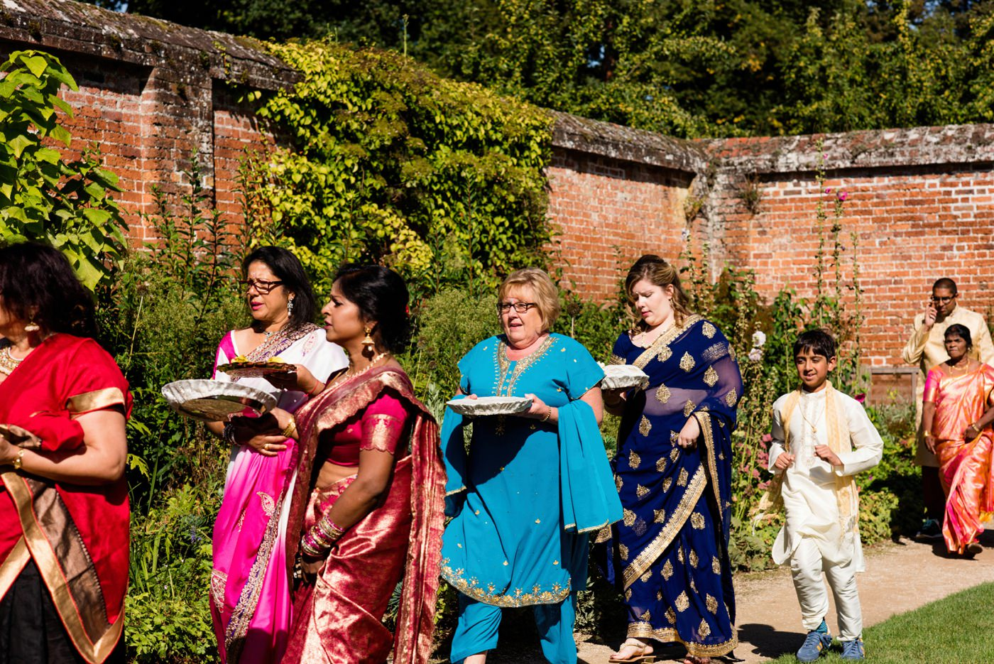 Indian wedding photography Painshill Park Surrey