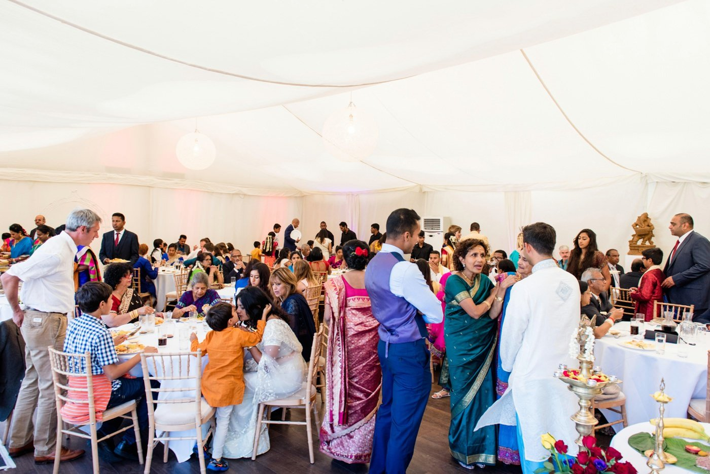 Tamil wedding photography Painshill Park Conservatory Surrey